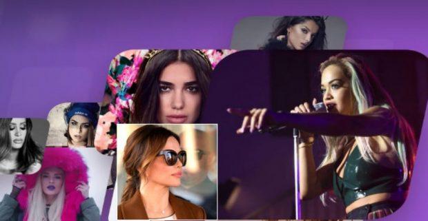 Duhet të krenohemi: Pesë këngëtare shqiptare në Top-10 artistet më të dëgjuara të Ballkanit (VIDEO)