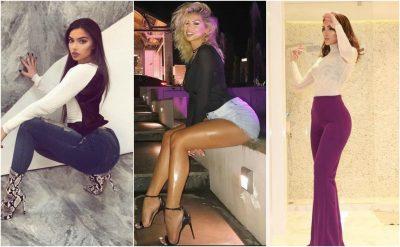 Vajzat e njohura shqiptare që përpiqen të kenë trupin si Kim Kardashian, por i pengon… (FOTO)