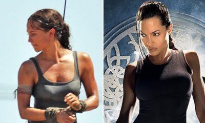 """Ishin mësuar me Angelina Jolie/ Fansat kritikojnë aktoren e re me gjoks të vogël të """"TOM RAIDER"""""""