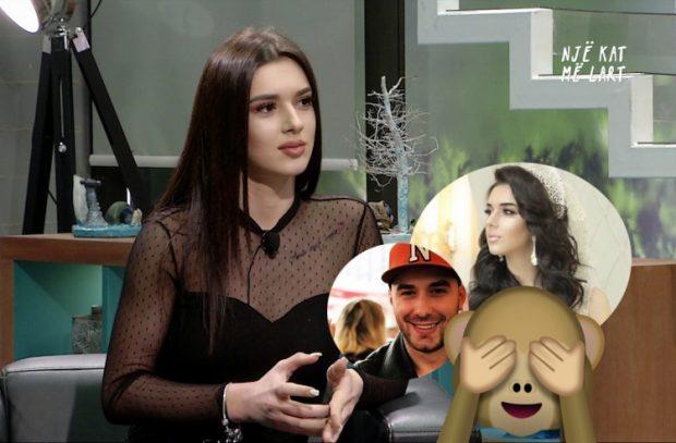 Xheni më në fund flet pse u vesh si nuse dhe zbulon raportin e saj me Olsin (VIDEO)