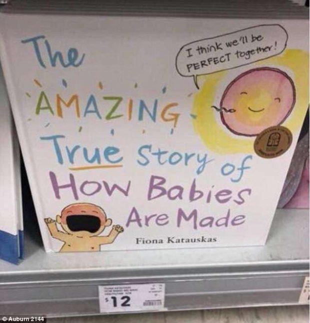 """""""Si vjen në jetë me të vërtetë një fëmijë"""", libri për vogëlushët që tronditi opinionin"""