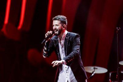 """Eugent Bushpepa """"I VË FLAKËN SKENËS"""" në provat gjenerale të """"Eurovizion-it"""" dhe ja ç'thonë mediat e huaja"""
