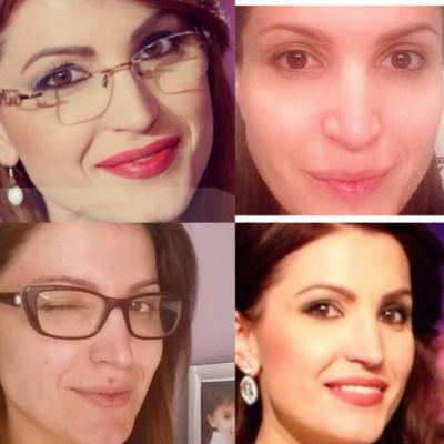 "Ja si duken VIP-et shqiptare pa ""make-up""! (FOTO)"