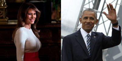 Barack Obama bën për të qeshur Melania Trump në funeral dhe interneti u çmend