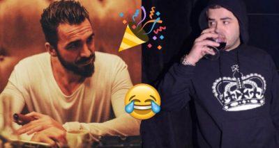 Blerim Destanin e surprizojnë për ditëlindje, por Noizy nuk e uron, ja çfarë i thotë (FOTO)