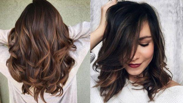 Flokët nude, bukuria natyrale e flokëve gështenjë që propozohet nga modelet franceze