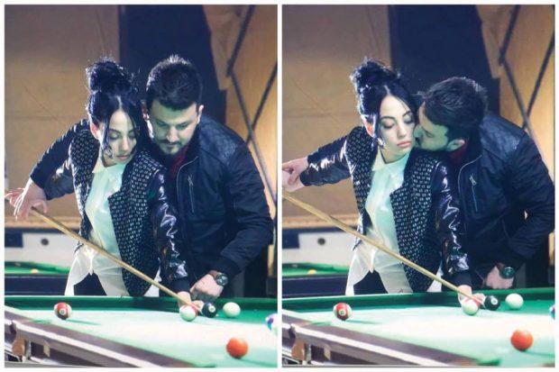 Harrojeni puthjen në buzë të Ajsit me Drilonin! Moderatorja merr propozimin për fejesë nga partneri misterioz (FOTO)