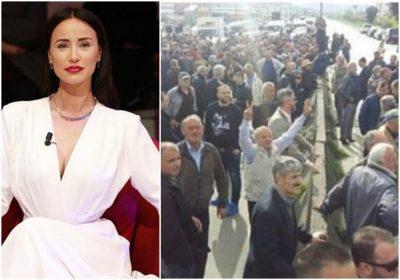 Albana Osmani reagon ashpër për PROTESTËN: Populli im! Je paguar e shitur lirë për një thes miell, për nje…