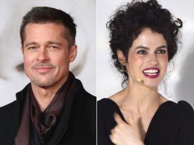 """Eh çfarë të bën dashuria/ Brad Pitt """"bie brenda"""" me profesoreshën që ngjan tmerrësisht  me …(FOTO)"""
