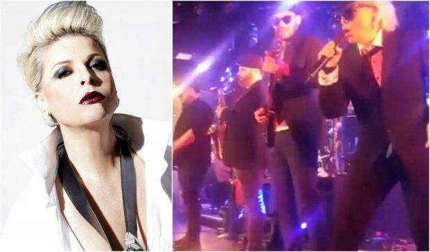 EPIKE! Aurela Gaçe HARRON dhe del në skenë me zinxhirin e pantallonave hapur: O shok ke lënë… (VIDEO)