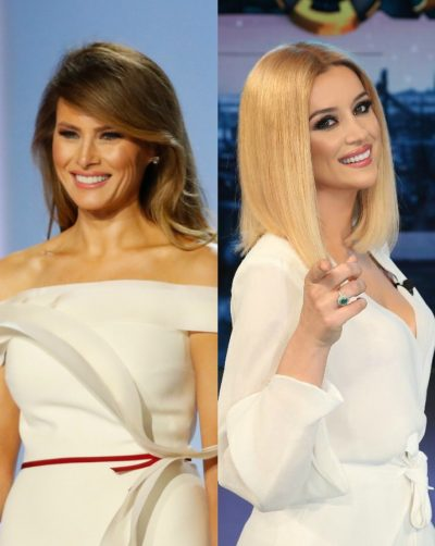 "Alketa Vejsiu bën ""xing"" me Melania Trump: Ja veshja me çmimin marramendës"