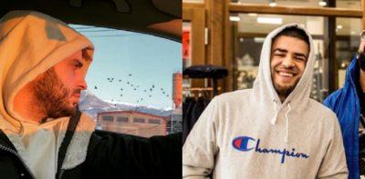 Dj-t të tij personal i ndodh e papritura në aeroport, shikoni si Noizy tallet me të (VIDEO)