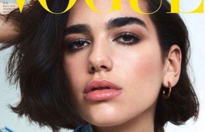 """Dua Lipa bëhet fytyra e """"Vogue"""" për të dytën herë"""