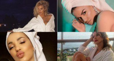 Lanë nam apo është normale? 15 VIP-et shqiptare që lahen me makeup (FOTO)