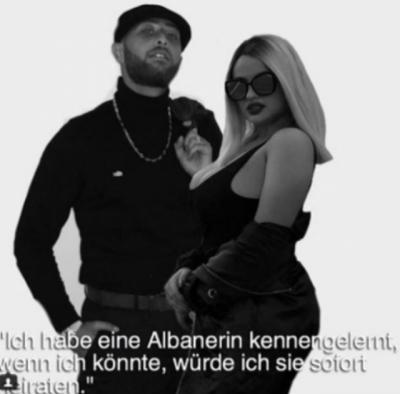 Enca çmend reperin që donte të martohej me të, i shkon në Gjermani me gjoksin jashtë