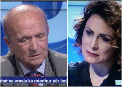 """Eni Vasili përlotet LIVE në studio! I mbijetuari i """"Kampit të Tepelenës"""" rëqeth publikun dhe bën moderatoren të… (FOTO)"""