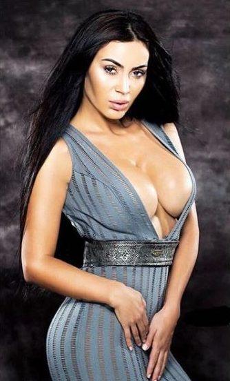 NDRYSHIMI DRASTIK I FJOLLA MORINËS/ Zbuloni ngjashmërinë e madhe me Kim Kardashian (FOTO)