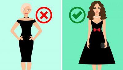 Gabimet që nuk duhet të bëni kur vishni fustan të zi