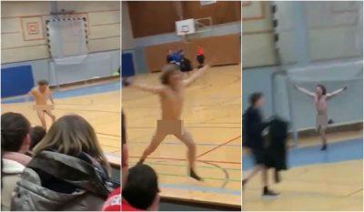 LA NAM! I premtuan 300 euro, gjimnazisti vrapon lakuriq para shokëve të shkollës