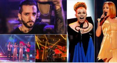 """14 përfaqësuesit e Shqipërisë në Eurovizion dhe ngërçi në """"Mall""""-in e Eugent Bushpepës"""