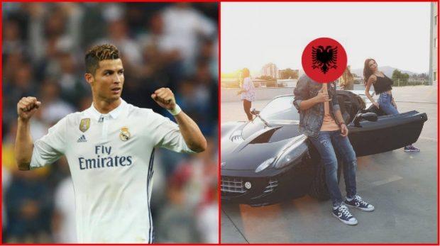 Këngëtari i njohur shqiptar publikon mesazhet me Cristiano Ronaldon në INSTAGRAM, shihni çfarë i ka shkruar! (FOTO)