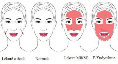 Mënyra e duhur për të larë fytyrën sipas llojit të lëkurës/ Produktet që duhet të përdorni