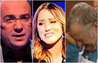 """Kur emocionet """"mbysin"""" dhe moderatorët! Të gjithë ata që QANË, nga Blendi Fevziu deri te Arbana Osmani (FOTO)"""