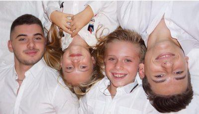 Ç'do të thotë të jesh motër e tre vëllezërve? VIDEO e fëmijëve të Dritan Priftit e dëshmon