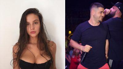"""Oriola shfaqet me bikini krah Noizy-t, por gjatësia e modeles vë në siklet reperin: """"Ai i pret kokën"""" (FOTO)"""