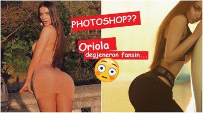 """E akuzon për PHOTOSHOP, Oriola Marashi """"degjeneron"""" fansin. Reagon Rasheli: E kam parë pa këtë fustanin dhe… (FOTO)"""
