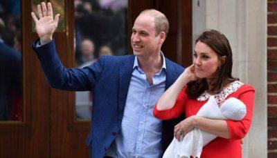"""Dukesha Kate del nga spitali, Britania e Madhe i prezanton botës """"PRINCIN e VOGËL"""" të porsalindur (FOTO)"""