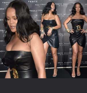 Rihanna në Milano dukej sikur sapo kishte zbritur nga hëna: Thjesht WOW