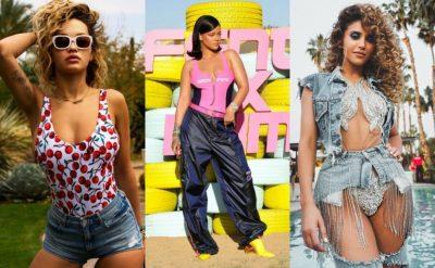 Nga Rita, Anxhelina te Rihanna e motrat Jenner: Ja kush janë të veshurat më bukur në Coachella