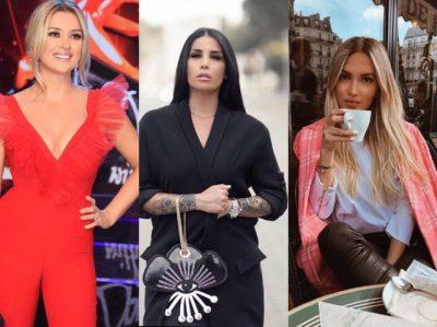 Kim Kardashian frymëzon vajzat e njohura shqiptare për modelin e flokëve! Kush e ka kopjuar më mirë?! (FOTO)