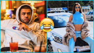 """""""M'trego ti mu""""/ Noizy nxjer në pah humorin e tij epik, Oriola Marashi """"e myt"""" me atë çfarë i thotë (FOTO)"""