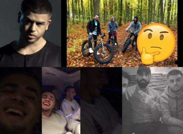 """U bënë shokë papritur, sot Noizy dhe reperi flasin hapur muhabete """"GJIZE"""" në Instagram: Po 100 kilet e mija… (FOTO)"""