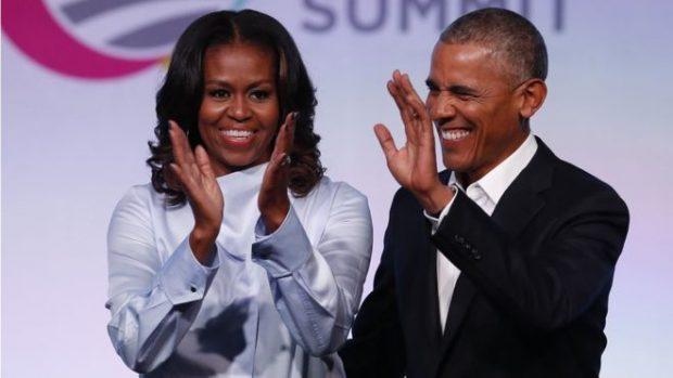 HARROJENI POLITIKËN/ Barack and Michelle Obama producentë filmash e shfaqesh televizive