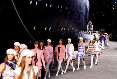 Nuk e dimë nëse jeni gati, por Chanel solli një anije në mes të pasarelës(FOTO+VIDEO)