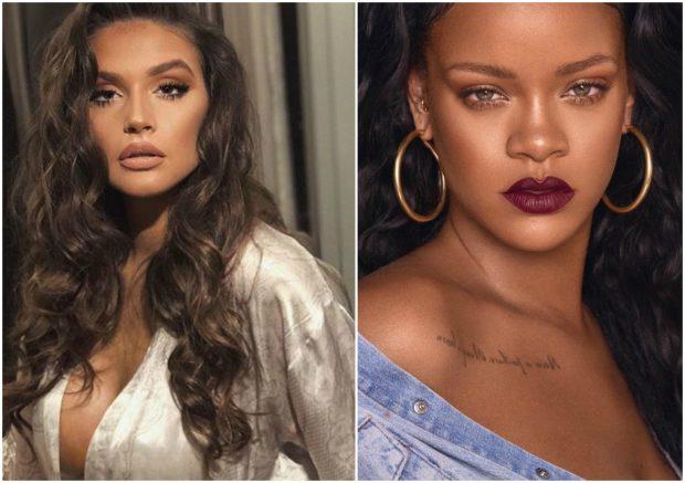 """Rihanna si """"Papa"""" në """"Met Gala"""" na kujtoi Oriola Marashin! Ngjashmëria e tyre e """"frikshme""""… (FOTO)"""