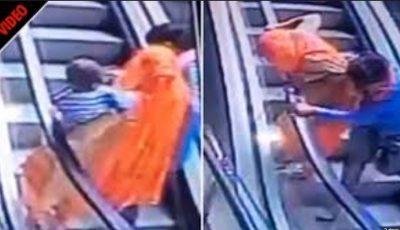 Momenti i tmerrshëm/ Bënte selfie, fëmija i ikën nga krahët gjen vdekjen (VIDEO)