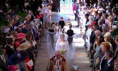 VIDEO QË I TREGON TË GJTIHA/ Martesa e princit Harry dhe Meghan në 43 sekonda