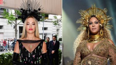 """Rita Ora në """"Met Gala 2018"""" e frymëzuar nga Beyonce, shqiptarja shkëlqen me Prada (FOTO)"""