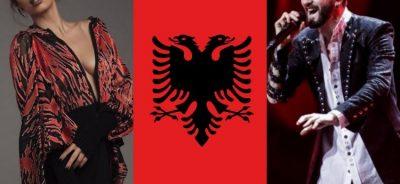 Të gjithë po e prisnim! Dy shqiptarët e Eurovisionit bëjnë përshëndetjen unike (FOTO)