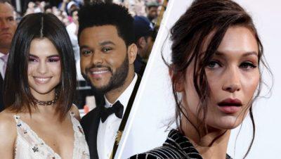 """Ç'paska qenë! S'ka llafe me Bella Hadid, shihni si ia ka bërë """"8 me 2"""" The Weeknd-it për Selena Gomez"""