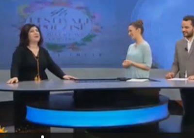 """""""Emrin e kam të shenjtë"""", moderatori tregon çastin e sikletshëm me Adriatike Lamin: Ajo mund ta merrte me…"""