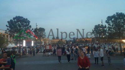 """PO NDODH/ Për ditën e puntorëve po bëhet NAMI në sheshin """"Skënderbej"""" (VIDEO)"""