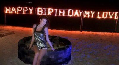 Nuk mbarojnë surprizat për ditëlindjen e Anxhela Martinit, ja cila ishte e radhës (VIDEO)