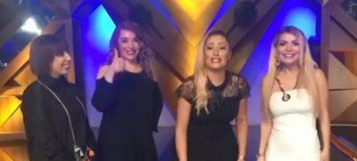 Irma, Rovena, Eneda dhe Besa imitojnë njëra-tjetrën, kjo VIDEO do t'ju shkrijë së qeshuri