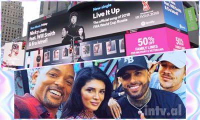 Era Istrefin po e dëgjon e gjithë BOTA! Renditet e 4-ta në YouTube dhe fytyra e shqiptares shfaqet në Times Square NYC.(FOTO)