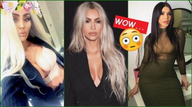 """""""Kim-omania!"""" Njihuni me 5 vajzat e showbiz-it shqiptar që ngjajnë 'copy-paste' si Kim Kardashian (FOTO)"""